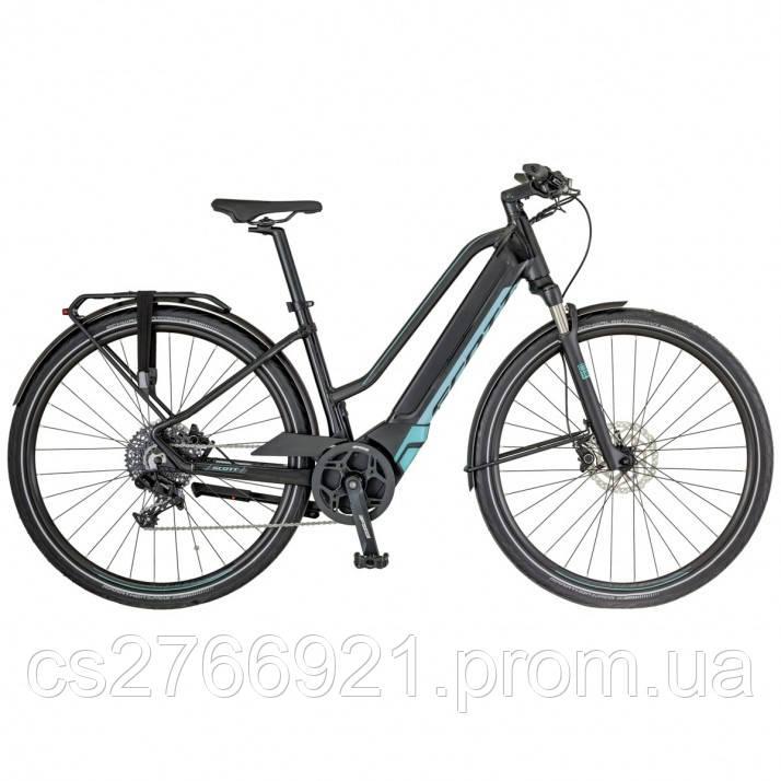 Женский электро велосипед E-SILENCE 20 LADY 18 SCOTT