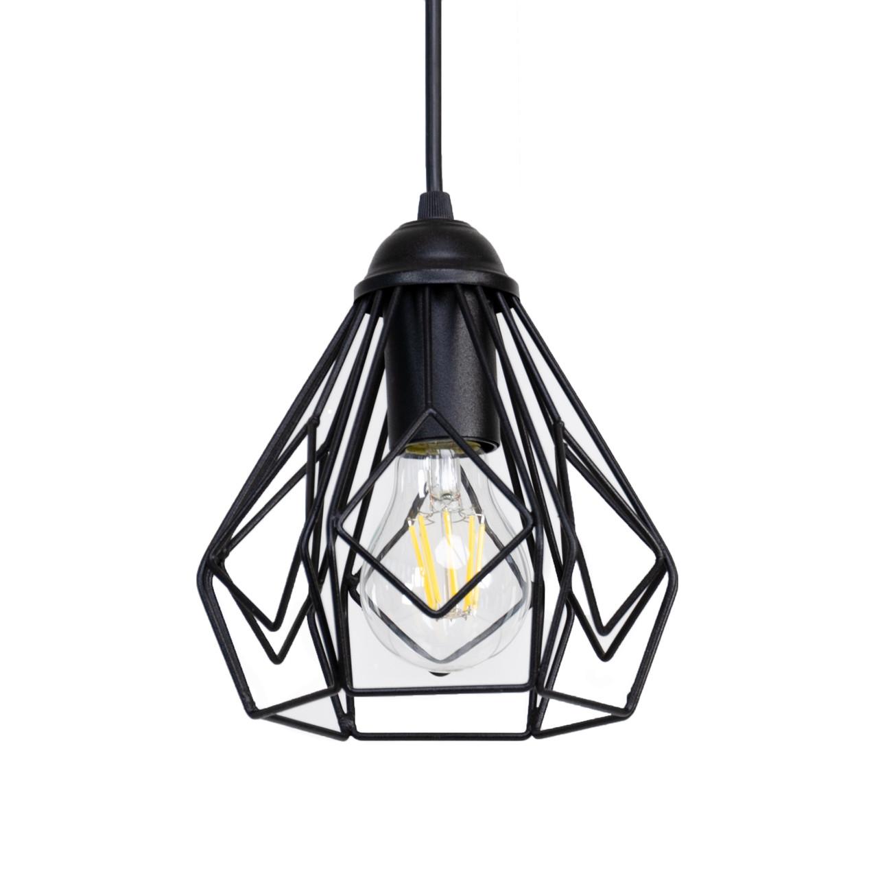 Светильник потолочный Atmolight Bevel P165 Черный (1324)