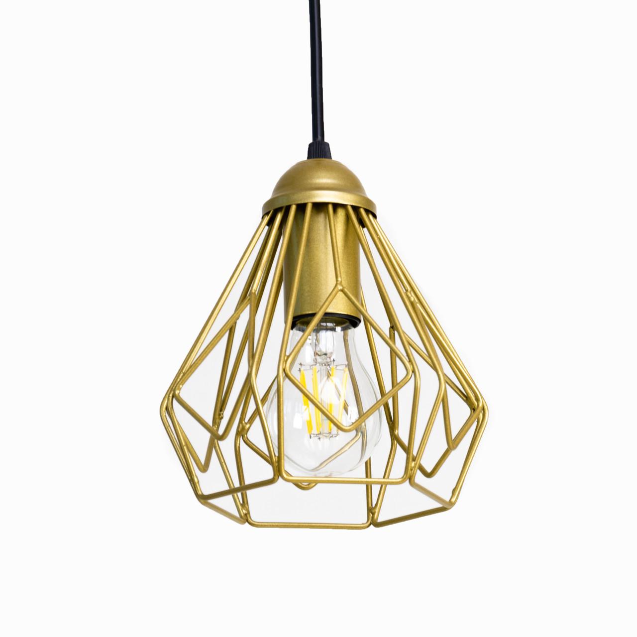 Светильник потолочный Atmolight Bevel P165 Золото (1326)