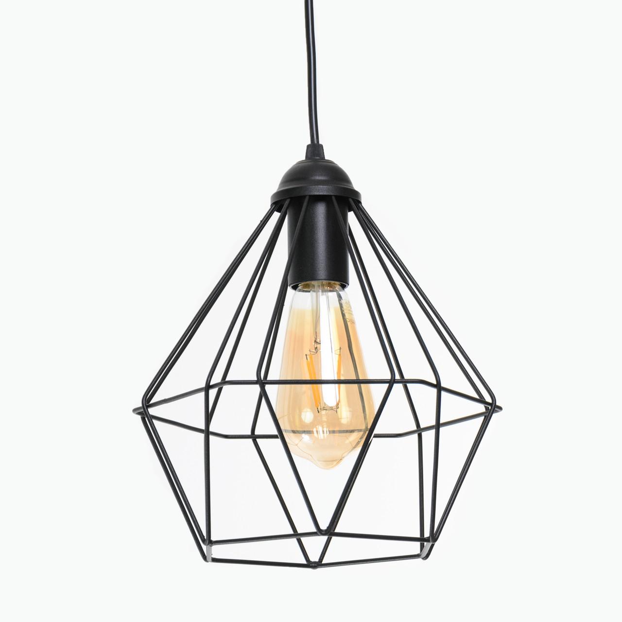 Светильник потолочный Atmolight Crystal P235 Черный (1336)