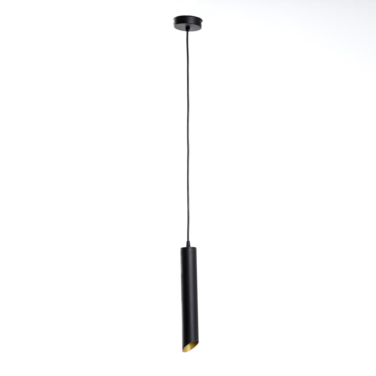 Светильник подвесной Atmolight Chime S P50-320 Черный с золотом(1371)