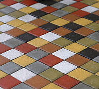 Тротуарная плитка ГОСТ Квадрат цветная 213х213х60 мм - Харьков, фото 1