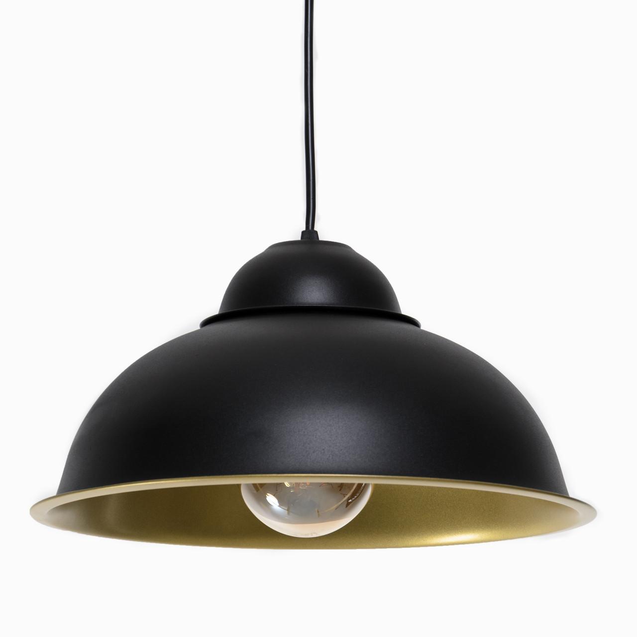 Люстра потолочная Atmolight Bell P360 Черный с золотом (1376)