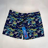 Мужские пляжные шорты-боксеры с яркими буквами R1983