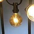 Уличная гирлянда Alphatrade Belt light (Белт лайт) 2 патрона на метр, 1м, фото 3
