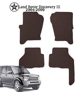 Коврики в салон Land Rover Discovery III 2004-2009 (4 шт) EVА