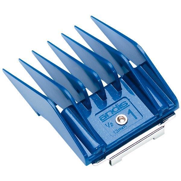 Andis насадка № 1 [13 мм] для ножевых блоков; цвет синий