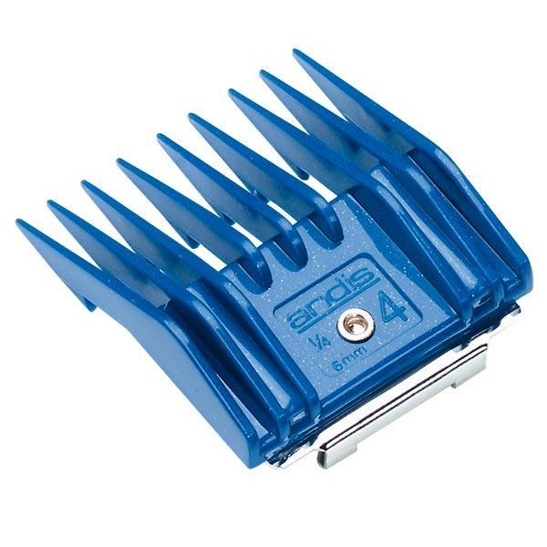 Andis насадка № 4 [6,0 мм] для ножевых блоков; цвет синий