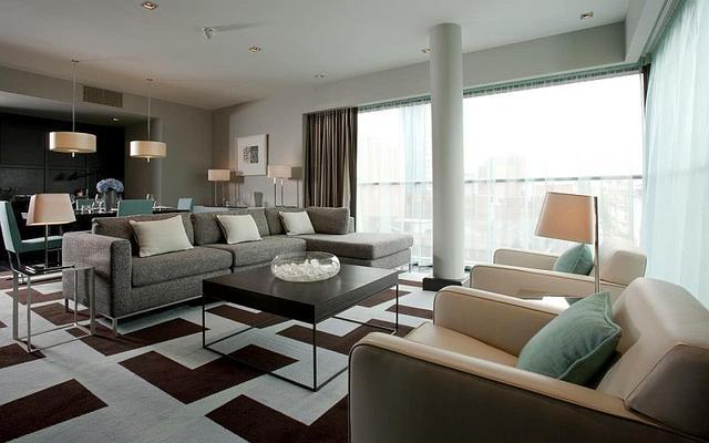 Оформление квартиры в стиле контемпорари