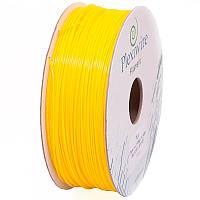 PLA пластик Plexiwire, 900 грамм, желтый
