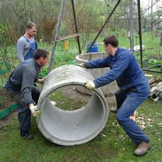Строительство, чистка и ремонт колодцев и скважин