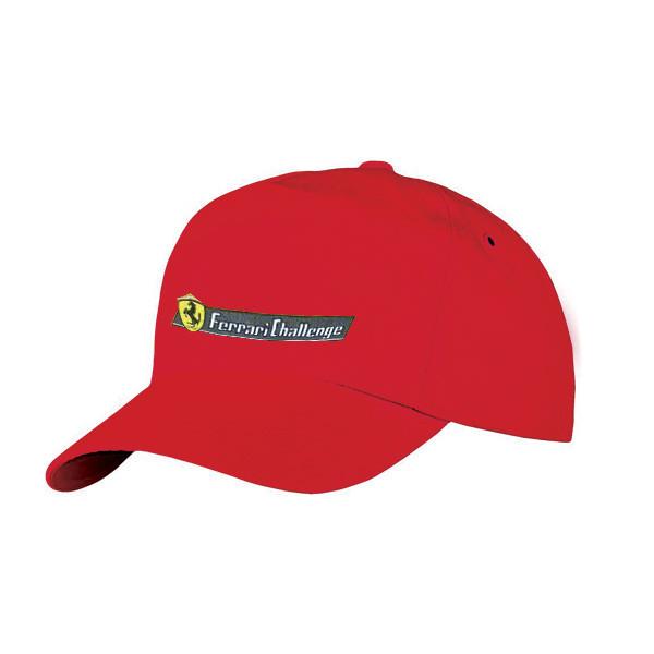 "Babyliss Promo кепка-бейсболка красная ""Ferrari"""