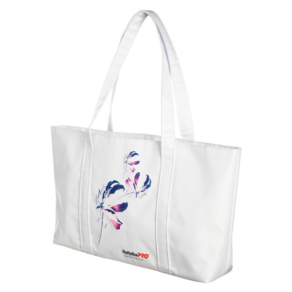 Babyliss Promo сумка клеенчатая белая ORCHID COLLECTION