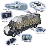 Кондиционная система на крышу микроавтобуса Фольксваген Транспортер 11КВТ
