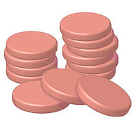 Depilia воск горячий в дисках упаковка 1000 г (50 дисков) #3.10 ДИОКСИД ТИТАНА