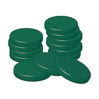 Depilia воск горячий в дисках упаковка 1000 г (50 дисков) #3.2 ХЛОРОФИЛЛ