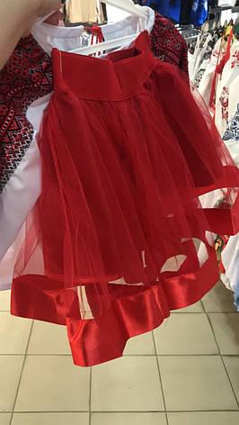 Костюм з вишивкою для дівчаток Волинянка, фото 2