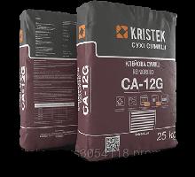 Клей для облицовки камнем и стеклом CA-12G KRISTEK, 25 кг