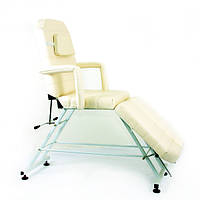 KaterynaLab кресло педикюрное/визажное 5 сложений RONDO БЕЛОЕ