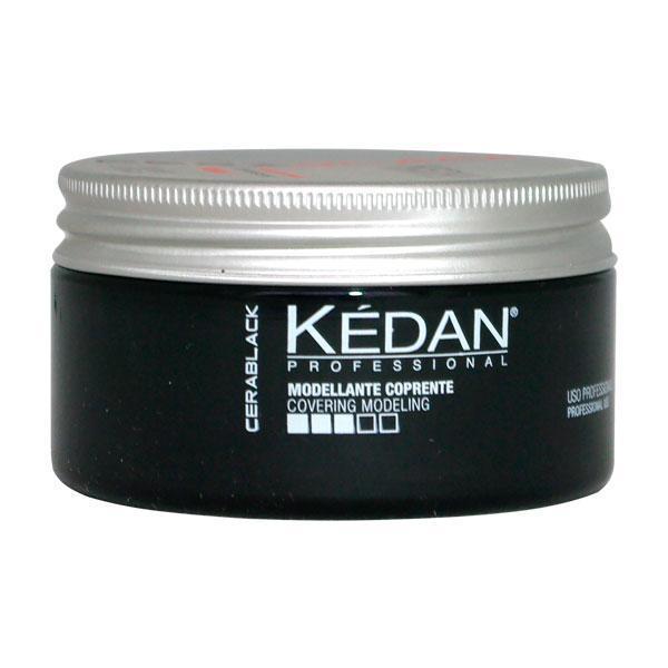 Kedan Cera Opaca Black матовый воск тонирующий для волос 100 мл.