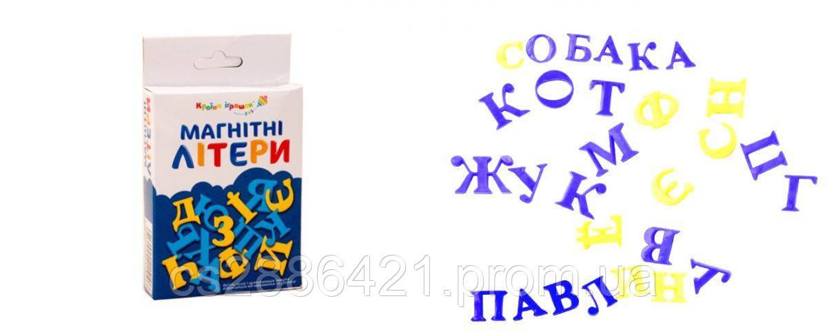 """Буквы магнитные """"Украинский алфавит""""(KI-7001)"""
