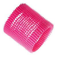Olivia Garden Бигуди JET SET JUMBO Pink розовые уп. 3 шт.