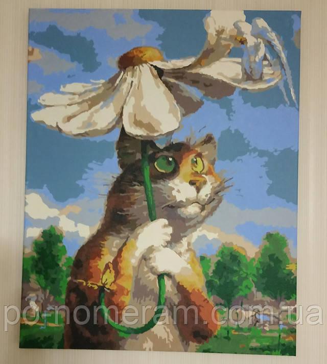 Картины по номерам питерские коты Владимира Румянцева