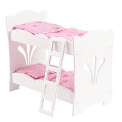 Кроватка для кукол KidKraft двухярусная Lil Doll 60130