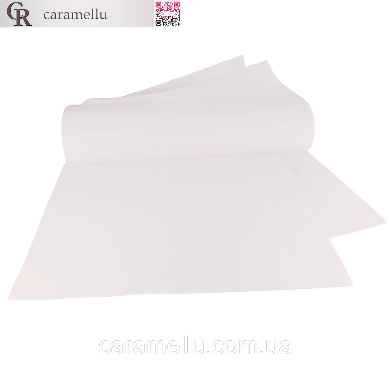 Фоамиран иранский 101 Белый, 1мм, 70х60см.
