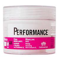 PERFORMANCE Моделирующий глянцевый воск для укладки волос, 100 мл.