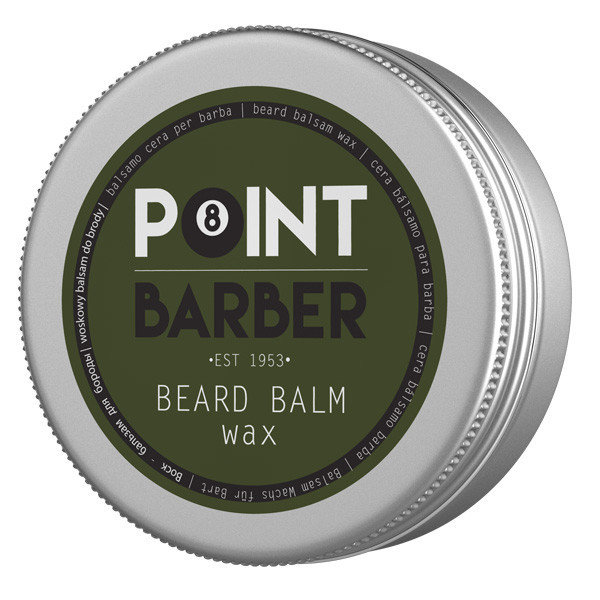 POINT BARBER BEARD BALM WAX Питательный и увлажняющий бальзам для бороды, 50 мл.