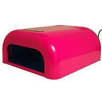 Promed лампа-сушка UVL-036 УФ для маникюра + таймер 4 лампы 36 Вт красная