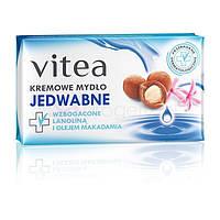 Крем-мыло Vitea с экстрактом шелка 100 г, Польша