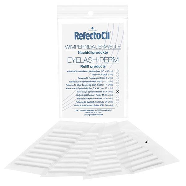 "Refectocil валик-прокладка для химзавивки ресниц ""Perm Refill Roller"" размер S = 36 шт."