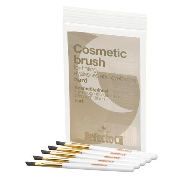 "Refectocil кисточки жесткие ""Gold"" для нанесения краски ""Сosmetic Brush Hard"" уп. 5 шт."
