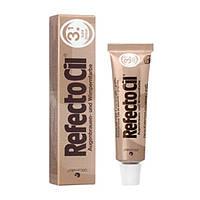 """Refectocil № 3.1 краска для бровей и ресниц цвет """"Светло-Коричневый"""", тюбик 15 мл"""