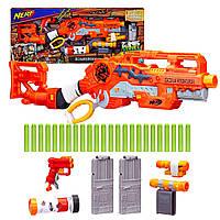 Детский бластер Нерф Зомби Страйк Скрэвенджер Nerf Zombie Strike Blaster Scravenger E1754