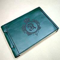 Кожаный блокнот M. Блокнот с кожаной обложкой А5, фото 1