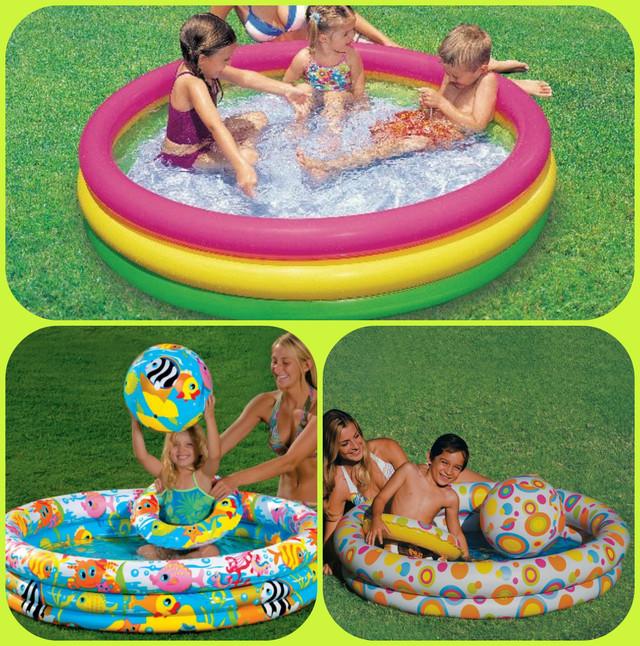 Детские надувные бассейны Intex