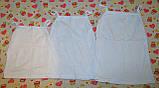 Майка-топ біла кулір 26-34р, фото 3