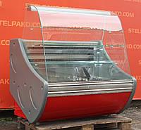 Холодильная витрина кондитерская «Технохолод ВХК Флорида» 1.2 м. (Украина), очень широкая выкладка, Б/у, фото 1