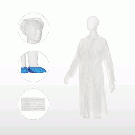 Комплект одноразовый нетканный MED COMFORT. Ampri, фото 2