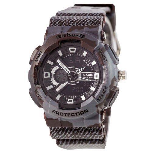 Электронные часы Casio Baby G GA-110 Jeans Dark Gray, спортивные часы Джи Шок бейби джи, реплика