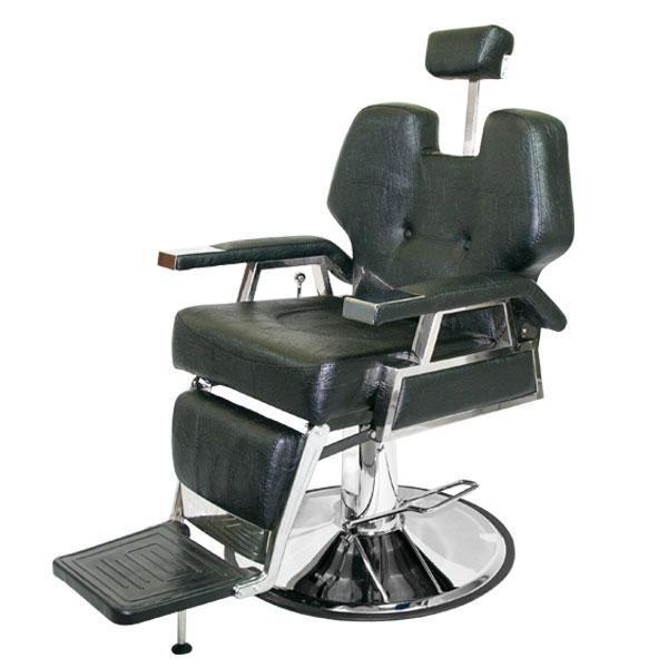 Кресло клиента Samson Barber-Shop на гидравлическом подъемнике