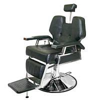Кресло клиента Samson Barber-Shop на гидравлическом подъемнике, фото 1