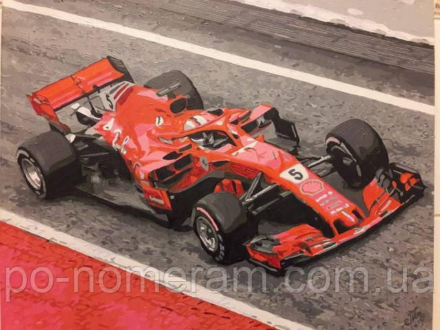 Картина по номерам Формула 1