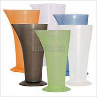 Мерный стакан высокий с носиком 120 мл разноцветный