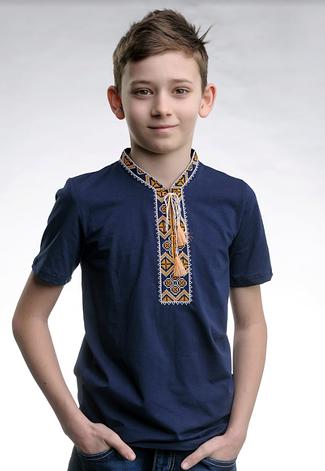 Вишита футболка дитяча для хлопчика, фото 2