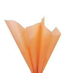 Папирусная бумага тишью светло-оранжевая