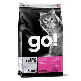 GO (Гоу) Refresh + Renew Chicken Cat Recipe 32/20, сухой корм для кошек с курицей и фруктами, 1,81 кг